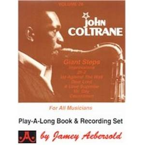 COLTRANE JOHN - AEBERSOLD 028 GIANT STEP + CD