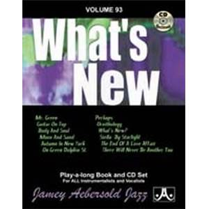 COMPILATION - AEBERSOLD 093 WHAT'S NEW + CD