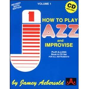 AEBERSOLD JAMEY - VOL. 001 NEW JAZZ IMPRO. EDITION FRANCAISE + CD