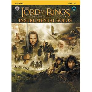 SHORE HOWARD - LORD OF THE RINGS INSTRUMENTAL SOLOS ALTO SAXOPHONE + CD