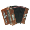 ACCORDEON DIATONIQUE HOHNER MERLIN II
