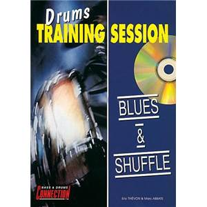 ABBATTE M/THIEVON E - BLUES ET SHUFFLE DRUMS TRAINING SESSION (FRANCAIS) + CD