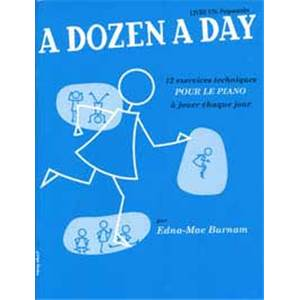 BURNAM EDNA MAE - A DOZEN A DAY VOL.1 VERSION FRANCAISE