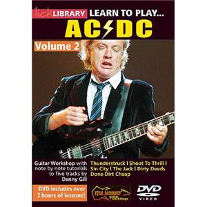 AC/DC - DVD LICK LIBRARY LEARN TO PLAY VOL.2