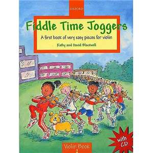 BLACKWELL KATHY ET DAVID - FIDDLE TIME JOGGERS + CD