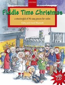 BLACKWELL KATHY ET DAVID - FIDDLE TIME CHRISTMAS +CD - VIOLON