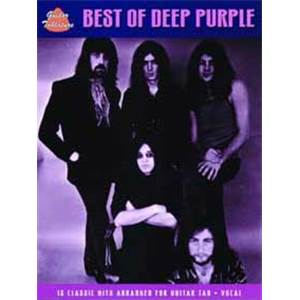 DEEP PURPLE - THE BEST OF GUITAR TAB.