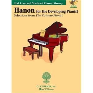 HANON CHARLES LOUIS - FOR THE DEVELOPING PIANIST + CD