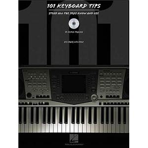 WELDON GRAIG - 101 KEYBOARD TIPS STUFF ALL PROS KNOW AND USE + CD