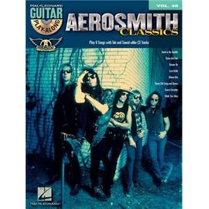 AEROSMITH - GUITAR PLAY ALONG VOL.48 + CD