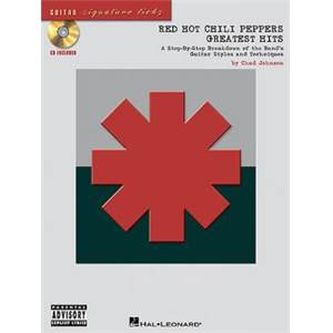 RED HOT CHILI PEPPERS - GREATEST HITS SIGNATURE LICKS GUITAR TAB. + CD