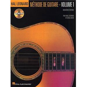 HAL LEONARD - METHODE DE GUITARE VOL.1 + CD