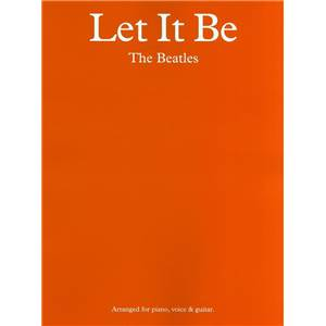BEATLES THE - LET IT BE P/V/G