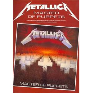 METALLICA - MASTER OF PUPPETS TAB. GUITAR