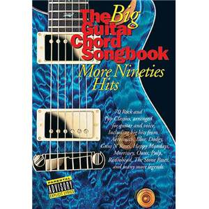 COMPILATION - BIG GUITAR CHORD SONGBOOK : MORE 90'S HITS