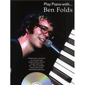 BEN FOLDS - PLAY PIANO WITH + CD