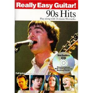 COMPILATION - REALLY EASY GUITAR 90S HITS + CD