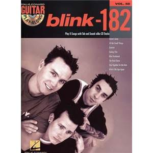 BLINK 182 - GUITAR PLAY ALONG VOL.058 + CD