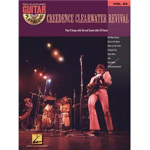 CREEDENCE CLEARWATER REVIVAL - GUITAR PLAY ALONG VOL.063 + CD