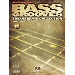 LIEBMAN JON - BASS BUILDERS BASS GROOVES THE ULTIMATE COLLECTION + CD