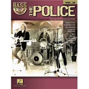 POLICE THE - BASS PLAY-ALONG VOL.20 + CD