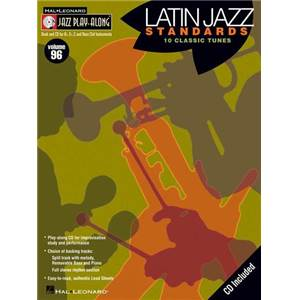 COMPILATION - JAZZ PLAY ALONG VOL.096 LATIN STANDARDS + CD