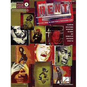 COMPILATION - PRO VOCAL FOR WOMEN AND MEN SINGERS VOL.03 RENT + CD