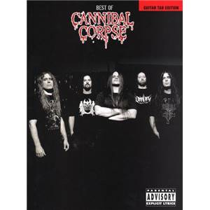 CANNIBAL CORPSE - BEST OF GUIT. TAB.