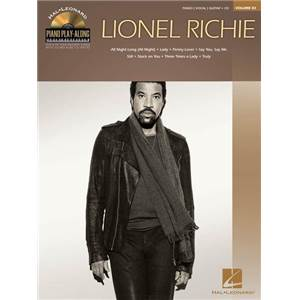 RICHIE LIONEL - PIANO PLAY ALONG VOL.082 + CD