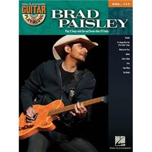 PAISLEY BRAD - GUITAR PLAY ALONG VOL.117 + CD