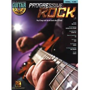 COMPILATION - GUITAR PLAY ALONG VOL.120 PROGRESSIVE ROCK + CD