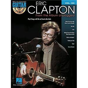 CLAPTON ERIC - GUITAR PLAY ALONG VOL.155 FROM THE ALBUM UNPLUGGED + CD