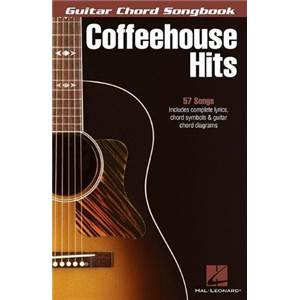 COMPILATION - GUITAR CHORD SONGBOOK: COFFEEHOUSE HITS 57 SONGS