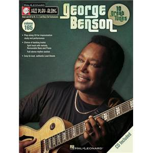 BENSON GEORGE - JAZZ PLAY ALONG VOL.165 + CD