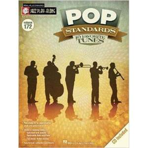 COMPILATION - JAZZ PLAY ALONG VOL.172 POP STANDARDS 10 FAVORITE TUNES + CD