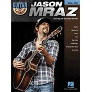 MRAZ JASON - GUITAR PLAY ALONG VOL.178 + CD