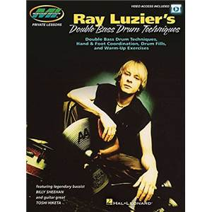 LUZIER RAY - DOUBLE BASS DRUM TECHNIQUE + DOWNLOAD CODE