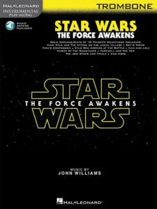 COMPILATION - INSTRUMENTAL PLAY-ALONG: STAR WARS THE FORCE AWAKENS TROMBONE  + ONLINE AUDIO ACCES