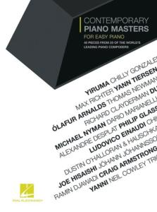 COMPILATION - CONTEMPORARY PIANO MASTERS 40 PIECES POUR EASY PIANO