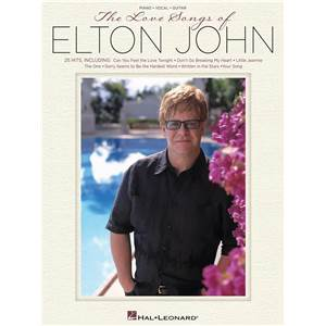 JOHN ELTON - THE LOVE SONGS P/V/G