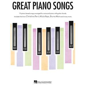 COMPILATION - GREAT PIANO SONGS P/V/G