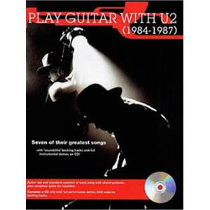 U2 - PLAY GUITAR WTH... 84 87 TAB. + CD