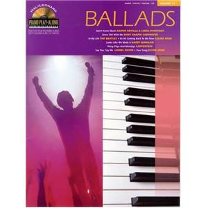 COMPILATION - PIANO PLAY ALONG VOL.011 BALLADS + CD