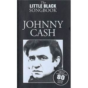 CASH JOHNNY - THE LITTLE BLACK SONGBOOK 80 CHANSONS
