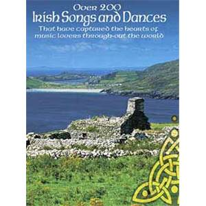 COMPILATION - OVER 200 IRISH SONGS AND DANCES GUITAR