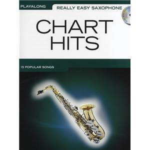 COMPILATION - REALLY EASY ALTO SAXOPHONE CHART HITS + CD