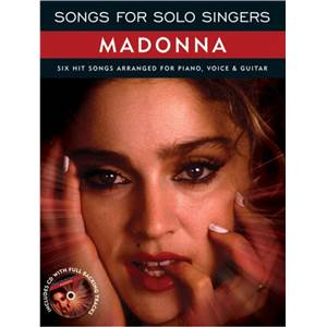 MADONNA - SONGS FOR SOLO SINGERS + CD