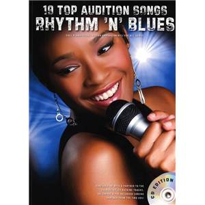 COMPILATION - AUDITION SONGS FOR FEMALE SINGERS : RHYTHM 'N' BLUES + CD