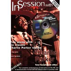 PARKER CHARLIE - IN SESSION TENOR SAXOPHONE BB + CD