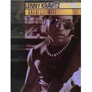 KRAVITZ LENNY - GREATEST HITS SCORE GUITAR TAB.